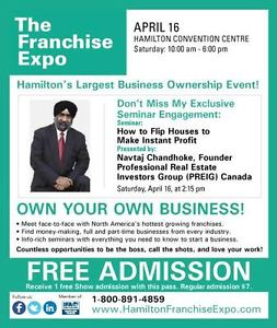 How to Flip Canadian properties LIVE free Seminar Hamilton