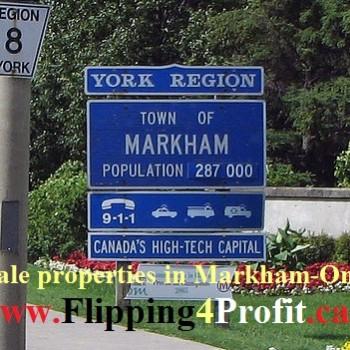 Markham tax sale properties