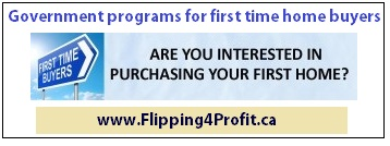 Government Programs for First Time home buyers