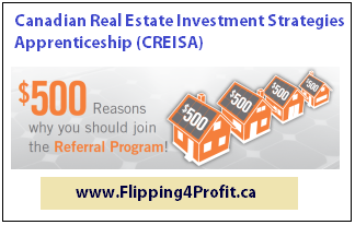 $500 referral program, Apprenticeship, Real estate investors, real estate investments