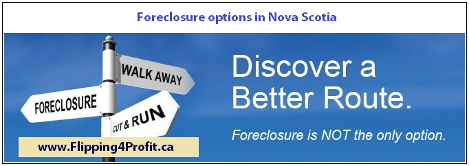 Foreclosure options in Nova Scotia