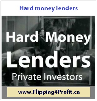 Hard money lenders in Canada