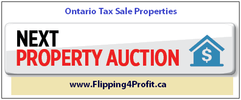 Ontario Tax sale properties