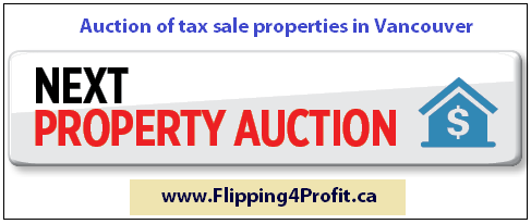 Auction of tax sale properties in Vancouver