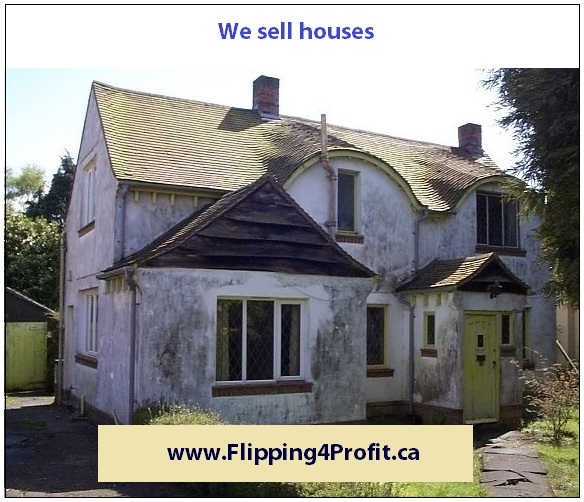 We sell houses, sell houses