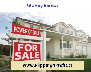 We buy houses for Cash in Canada