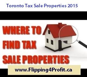 Toronto Tax Sale Properties 2015
