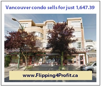 Vancouver condo sells for just $1,647.39
