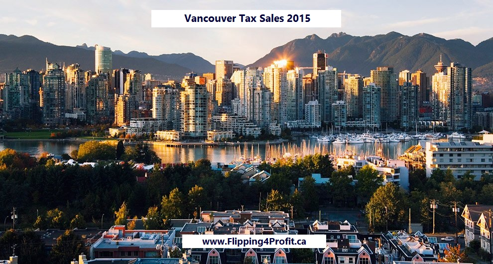 Vancouver Tax sale properties 2015