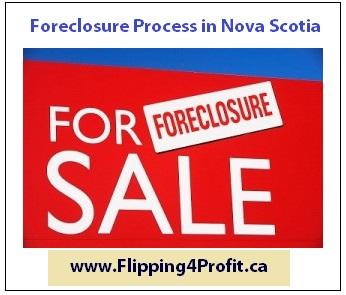 Foreclosure process inNova Scotia