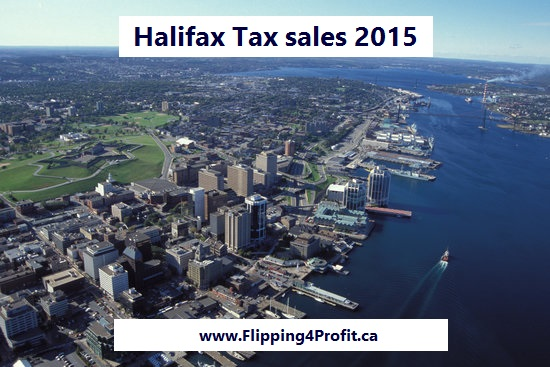 Halifax tax sale properties