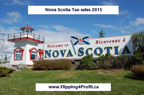 Nova Scotia Tax sale properties 2015