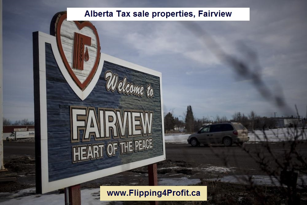 Alberta tax sale properties, Fairview