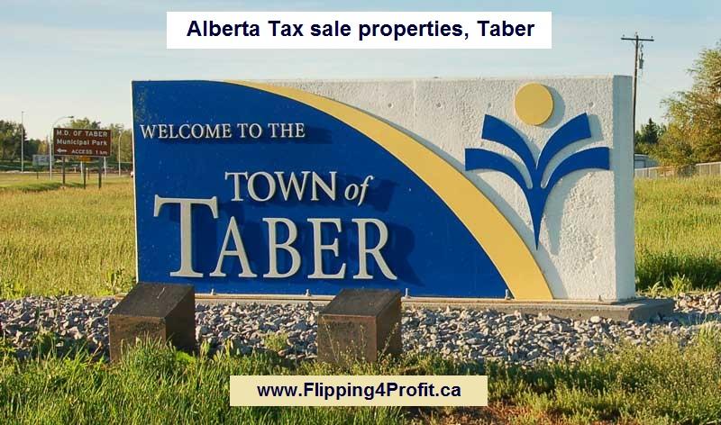 Alberta tax sale properties Taber, Alberta