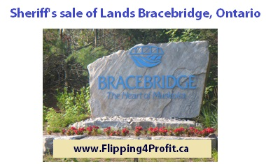 Jan 11, 2016 Ontario Sheriff's Sale of Lands, Bracebridge