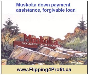 Muskoka down payment assistance