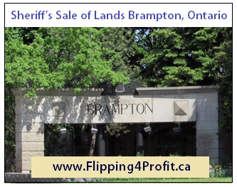 Ontario Sheriff's Sale of Lands Brampton