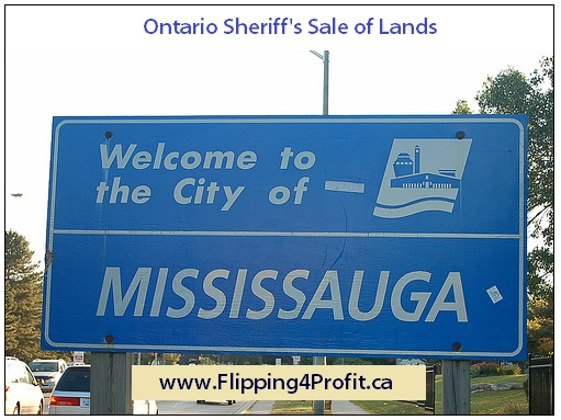 Ontario Sheriff's Sale of Lands, Mississauga
