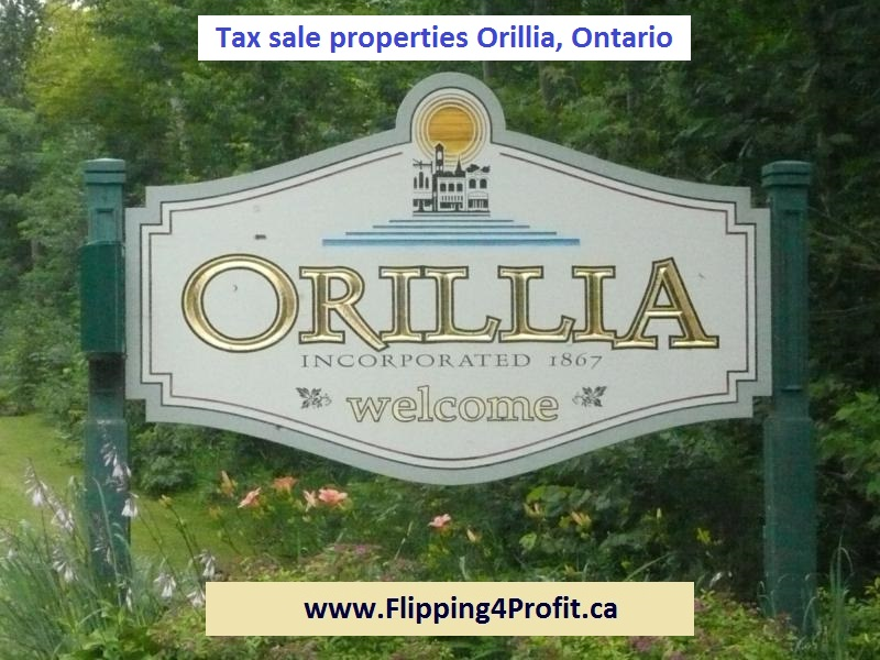 Tax sale properties Orillia, Ontario