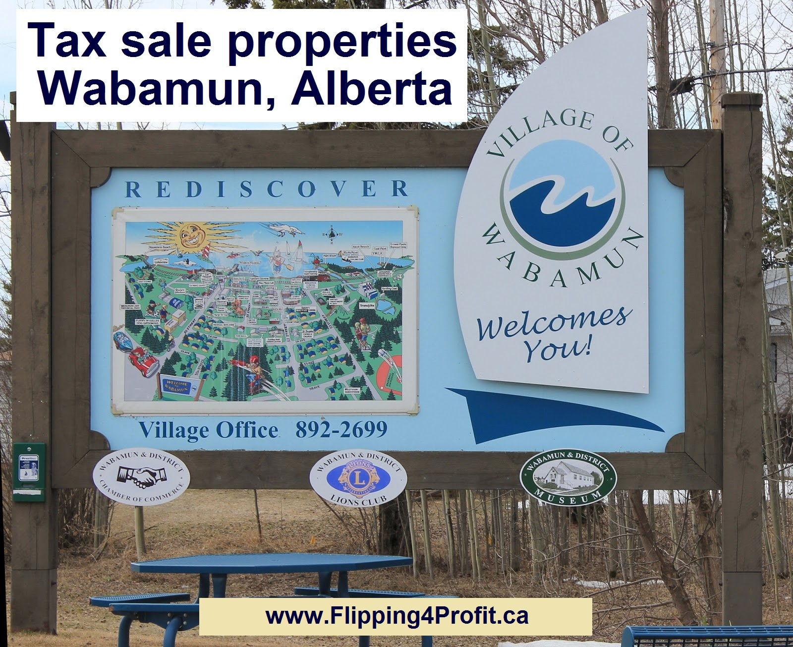 Tax sale properties Wabamun, Alberta