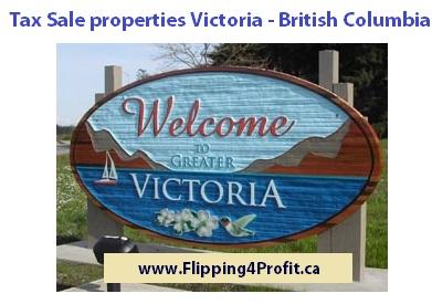 Tax sale properties Victoria-British Columbia