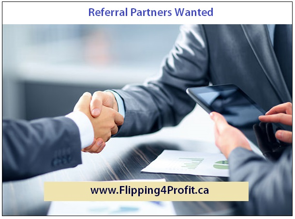 Referral Partners Wanted