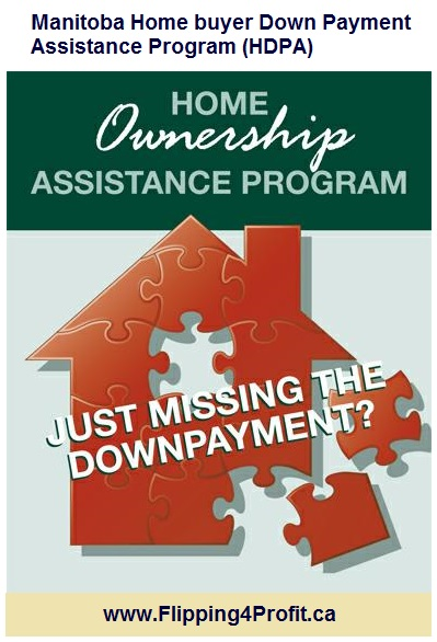 Manitoba Home buyer Down Payment Assistance Program (HDPA)