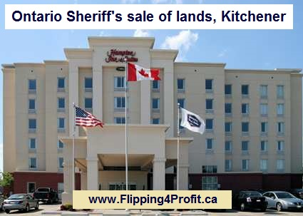 Ontario Sheriff's Sale of lands, Kitchener