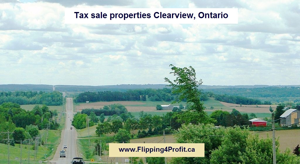 Tax sale properties Clearview, Ontario