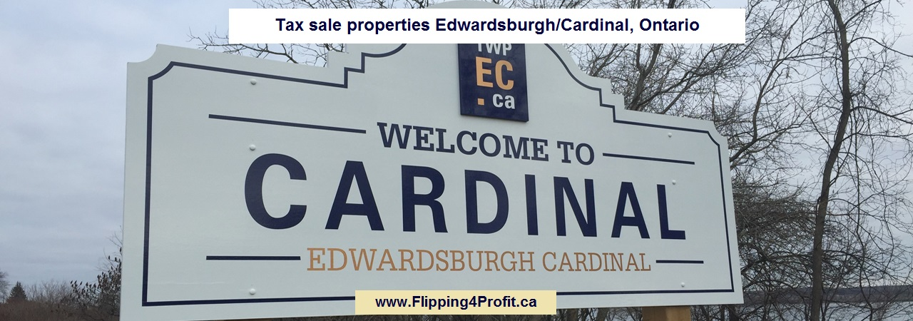 Tax sale properties Edwardsburgh, Ontario