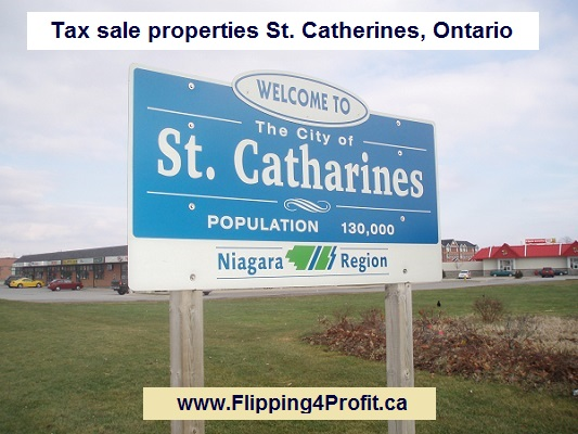 Tax sale properties St. Catherines, Ontario