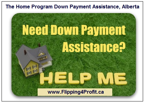 The Home Program Down Payment Assistance, Alberta