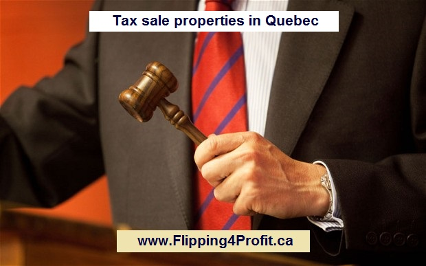 ​Act of definitive sale for Tax sale properties in Quebec