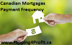 Canadian Mortgages Payment frequency