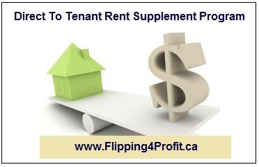 Direct To Tenant Rent Supplement Program