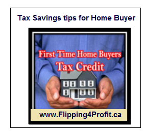 Tax Savings Tips For Home Buyer