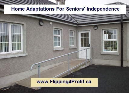 Home Adaptations For Seniors' Independence