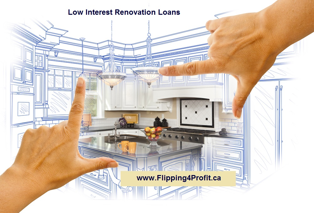 Low Interest Renovation Loans