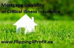 Mortgage disability orcritical illness insurance