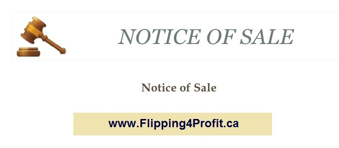 Power of Sale Procedure in Ontario