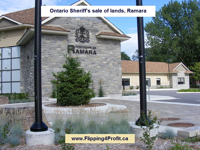 Ontario Sheriff's sale of lands, Ramara