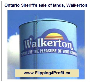 Ontario Sheriff's sale of lands, Walkerton