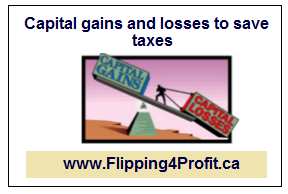 Capital gains and losses to save taxes