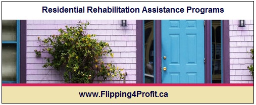 Residential Rehabilitation Assistance Programs (RRAP)