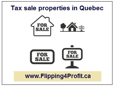 Sale of immovables for non-payment of taxes in Quebec
