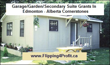 Garage/Garden/Secondary Suite Grants In Edmonton - Alberta Cornerstones