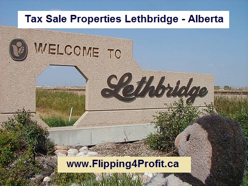 Tax Sale Properties Lethbridge - Alberta