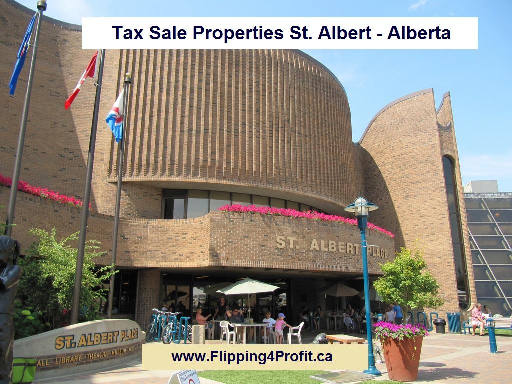 Tax Sale Properties St. Albert - Alberta