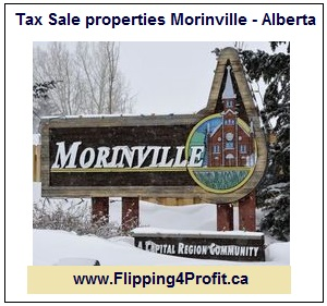 Tax sale properties Morinville, Alberta
