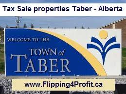 Tax sale properties Taber - Alberta